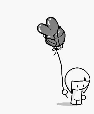 卡通下雨云彩简笔画内容图片展示